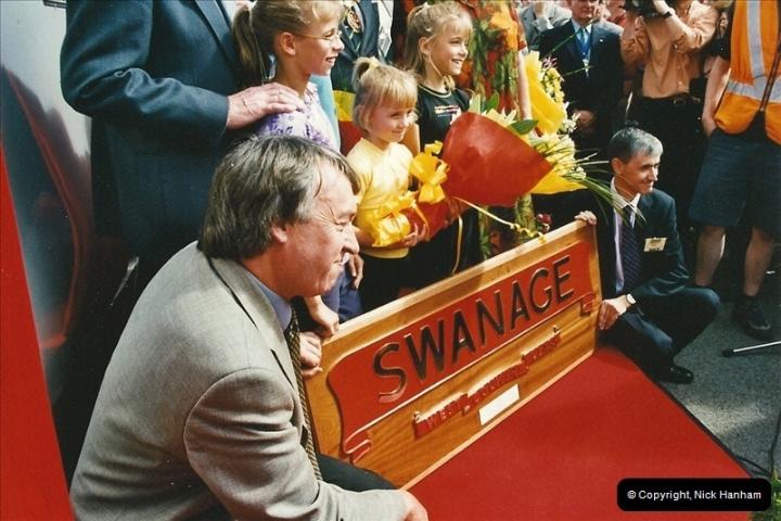 2002-09-08 Virgin Voyager named @ Swanage.  (23)110
