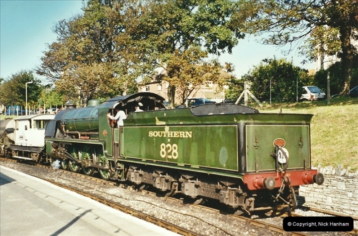 2002-09-14 SR Steam Gala. Your Host driving 80104. (4)153
