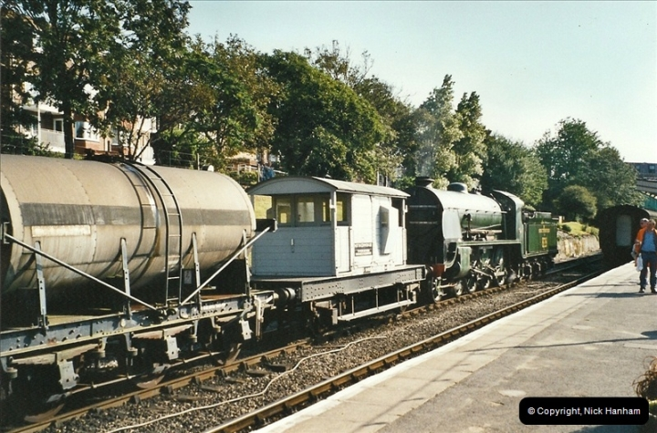 2002-09-14 SR Steam Gala. Your Host driving 80104. (5)154