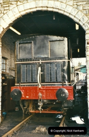 2002-12-01 Driving the DMU on Santa Specials.  (14)208