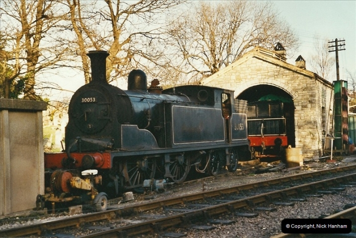 2002-12-01 Driving the DMU on Santa Specials.  (16)210