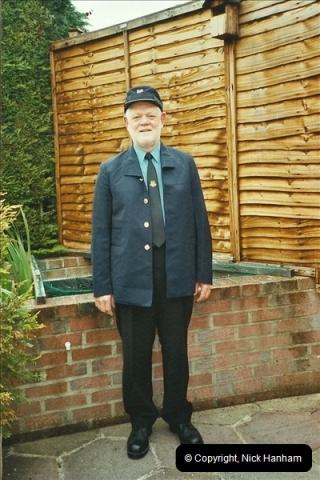 2003-05-07 Your Host in his new motorman uniform.  (2)345
