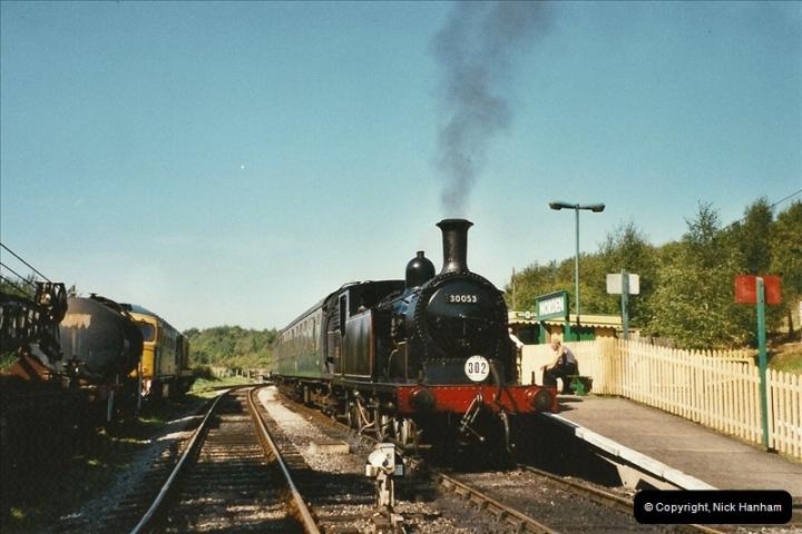 2003-09-14 SR Steam Gala driving 35027.  (12)408