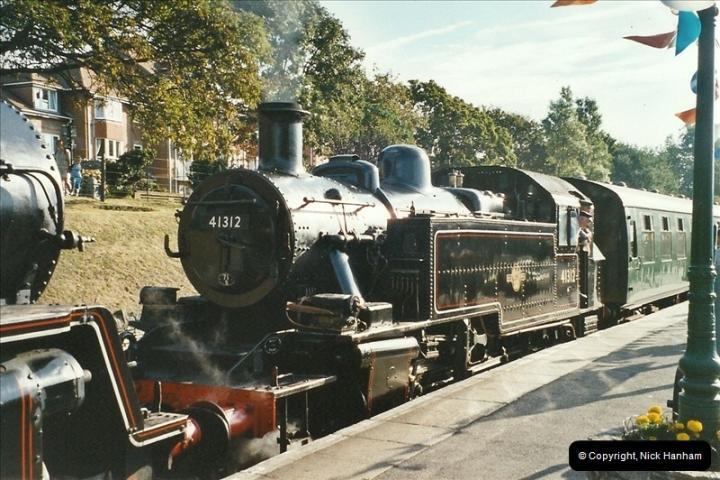 2003-09-14 SR Steam Gala driving 35027.  (4)400