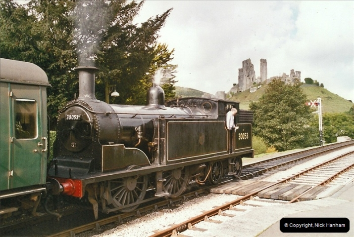 2004-09-11 SR Steam Gala with your Host driving 80104.  (21)602