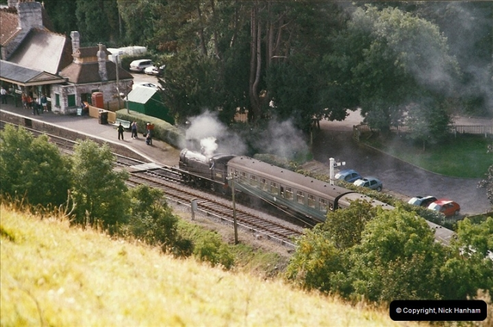 2004-09-11 SR Steam Gala with your Host driving 80104.  (25)606