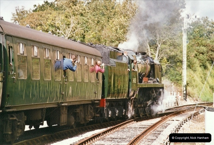 2004-09-11 SR Steam Gala with your Host driving 80104.  (32)613