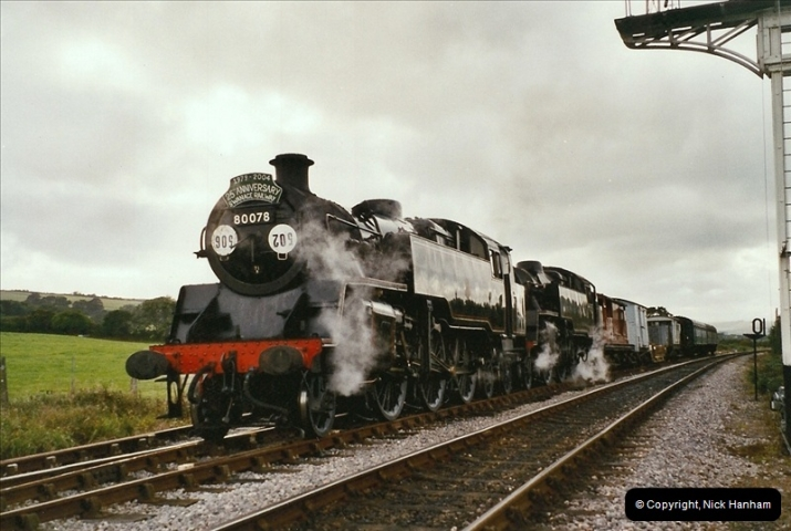 2004-09-11 SR Steam Gala with your Host driving 80104.  (40)621