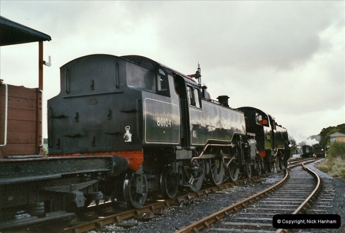2004-09-11 SR Steam Gala with your Host driving 80104.  (42)623