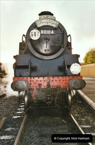 2004-09-11 SR Steam Gala with your Host driving 80104.  (44)625