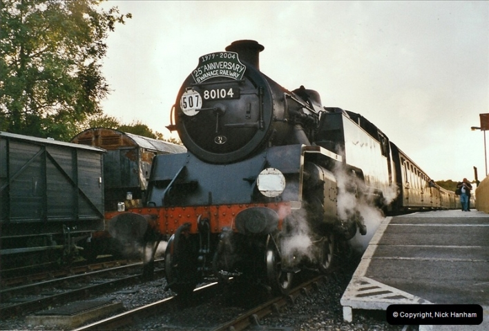 2004-09-11 SR Steam Gala with your Host driving 80104.  (45)626