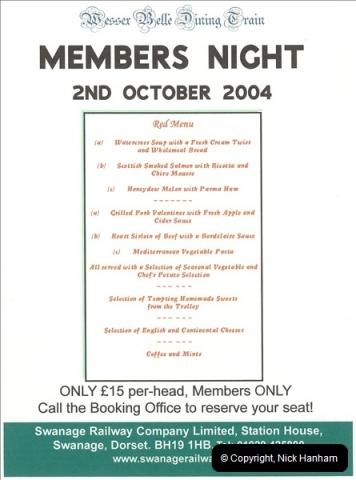2004-10-02 Staff Dining Train.  (3)630
