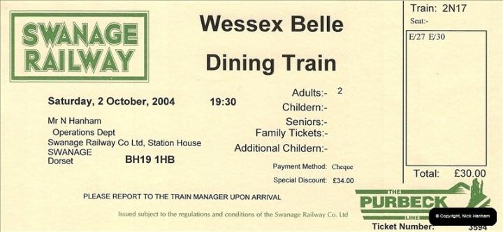 2004-10-02 Staff Dining Train.  (4)631