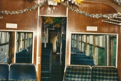 2002-12-01 Driving the DMU on Santa Specials.  (29)223