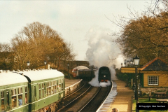 2002-12-01 Driving the DMU on Santa Specials.  (8)202