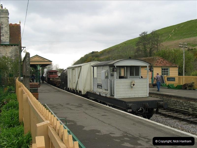 2005-04-16 Swanage Railway 50s & 60s Event @ Ciorfe Castle, Dorset.   (1)001
