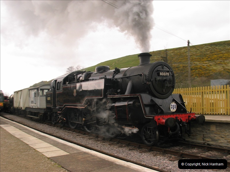 2005-04-16 Swanage Railway 50s & 60s Event @ Ciorfe Castle, Dorset.   (3)003