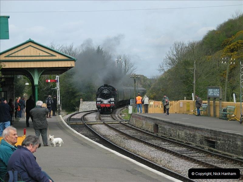2005-04-17 Swanage Railway 50s & 60s Event, @ Corfe Castle, Dorset.  (2)034