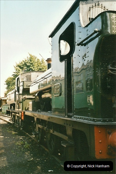 2005-06-06 The SR goes GWR for the Summer.  (6)146
