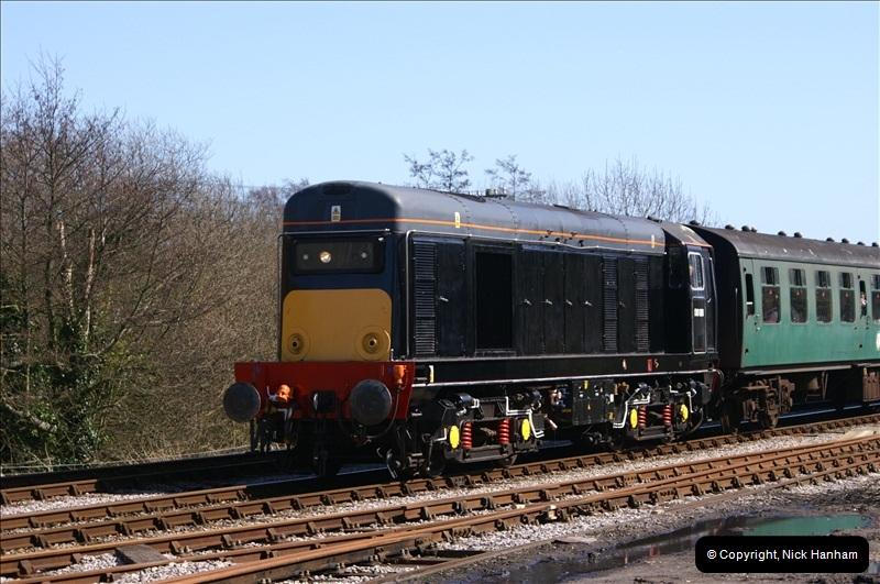 2006-03-31 SR Branch line Weekend @ Corfe Castle Dorset. (11)201
