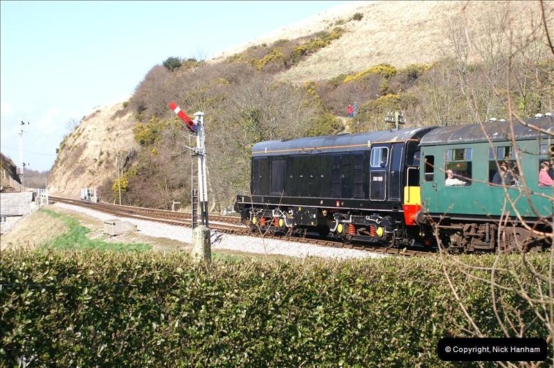 2006-03-31 SR Branch line Weekend @ Corfe Castle Dorset. (12)202