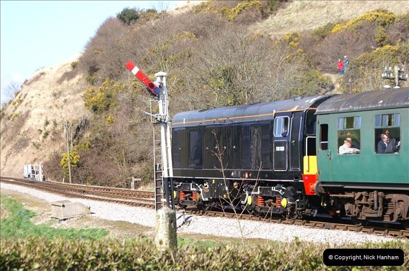 2006-03-31 SR Branch line Weekend @ Corfe Castle Dorset. (13)203