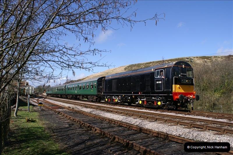 2006-03-31 SR Branch line Weekend @ Corfe Castle Dorset. (19)209