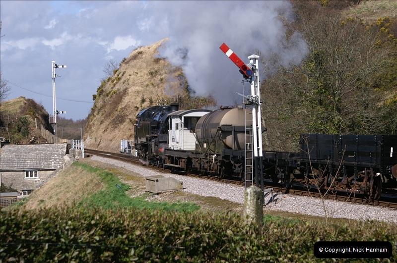 2006-03-31 SR Branch line Weekend @ Corfe Castle Dorset. (5)196
