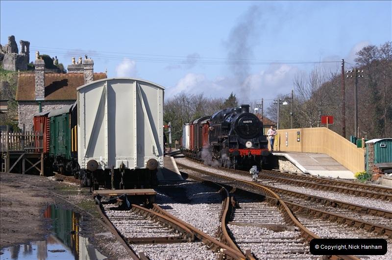 2006-03-31 SR Branch line Weekend @ Corfe Castle Dorset. (8)199