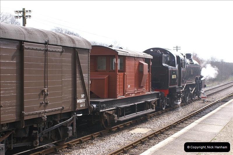 2006-03-31 SR Branch line Weekend @ Corfe Castle Dorset. (21)211