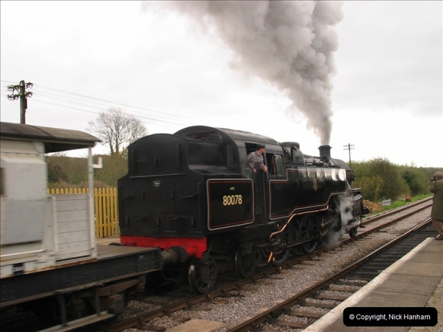 2005-04-16 Swanage Railway 50s & 60s Event @ Ciorfe Castle, Dorset.   (4)004