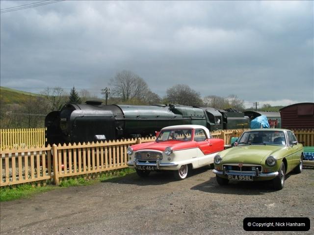 2005-04-16 Swanage Railway 50s & 60s Event @ Ciorfe Castle, Dorset.   (5)005