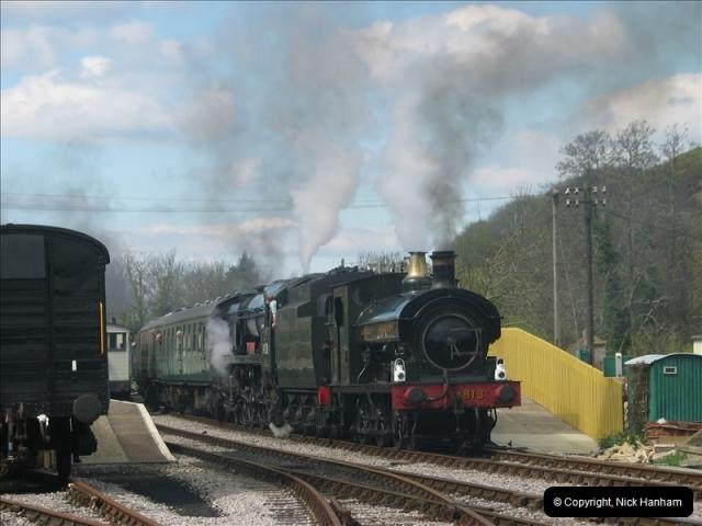2005-04-16 Swanage Railway 50s & 60s Event @ Ciorfe Castle, Dorset.   (7)006