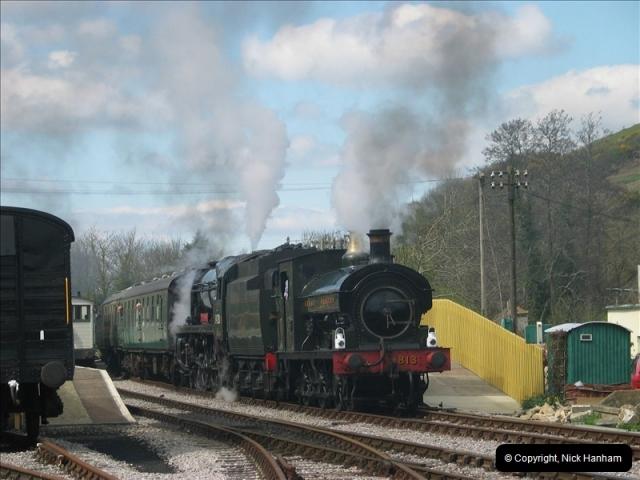 2005-04-16 Swanage Railway 50s & 60s Event @ Ciorfe Castle, Dorset.   (8)007