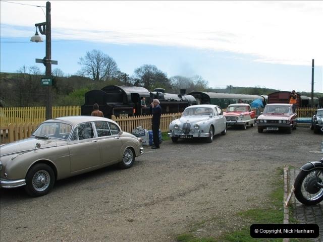 2005-04-17 Swanage Railway 50s & 60s Event, @ Corfe Castle, Dorset.  (1)033