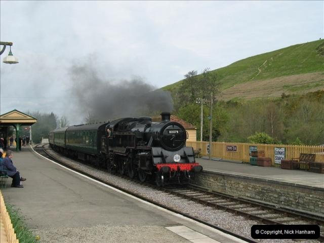 2005-04-17 Swanage Railway 50s & 60s Event, @ Corfe Castle, Dorset.  (3)035