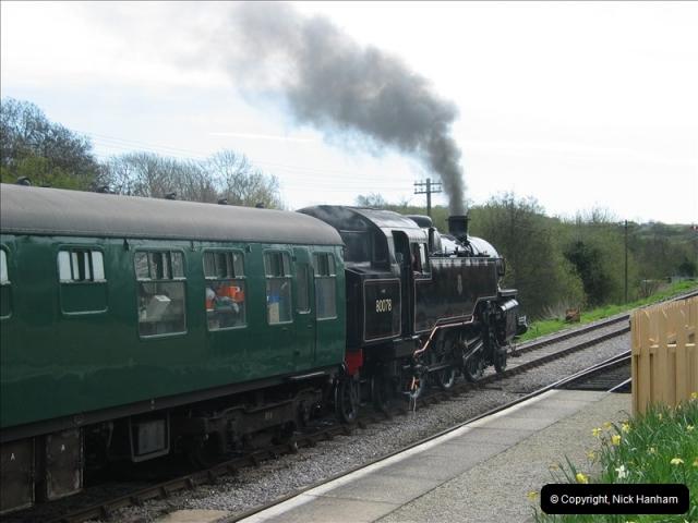 2005-04-17 Swanage Railway 50s & 60s Event, @ Corfe Castle, Dorset.  (4)036