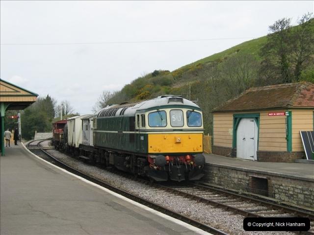 2005-04-17 Swanage Railway 50s & 60s Event, @ Corfe Castle, Dorset.  (5)037