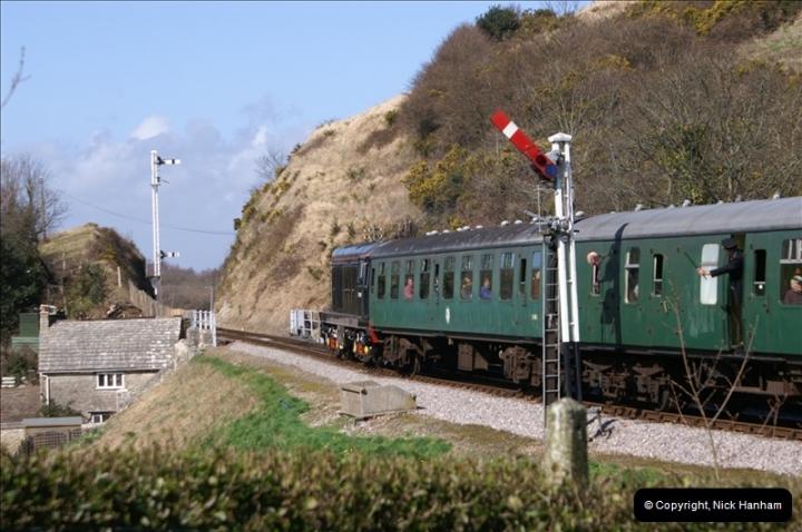 2006-03-31 SR Branch line Weekend @ Corfe Castle Dorset. (14)204