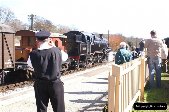 2006-03-31 SR Branch line Weekend @ Corfe Castle Dorset. (15)205