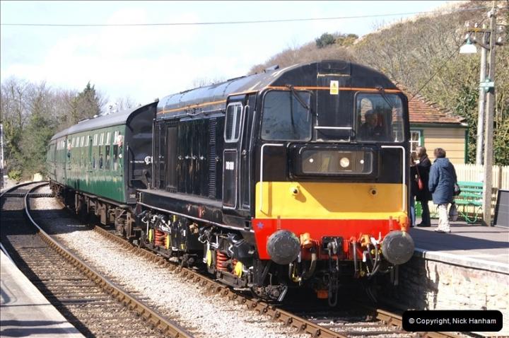 2006-03-31 SR Branch line Weekend @ Corfe Castle Dorset. (16)206