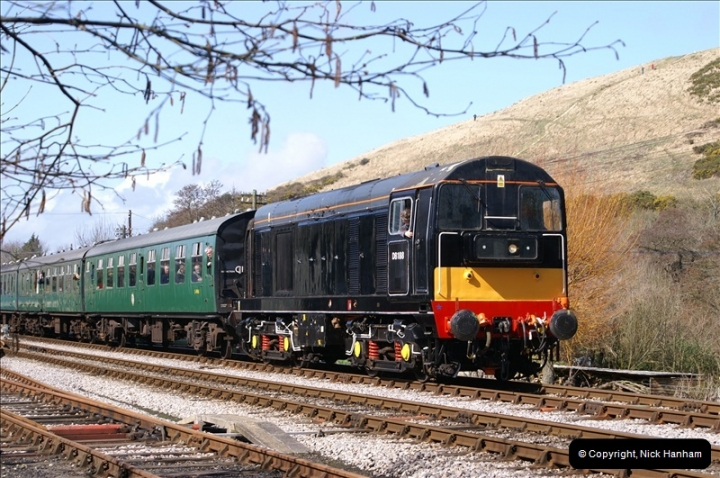 2006-03-31 SR Branch line Weekend @ Corfe Castle Dorset. (18)208