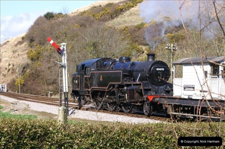 2006-03-31 SR Branch line Weekend @ Corfe Castle Dorset. (4)195