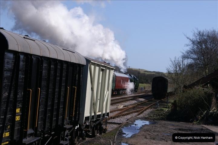 2006-03-31 SR Branch line Weekend @ Corfe Castle Dorset. (6)197