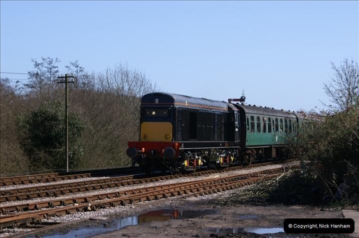 2006-03-31 SR Branch line Weekend @ Corfe Castle Dorset. (10)200