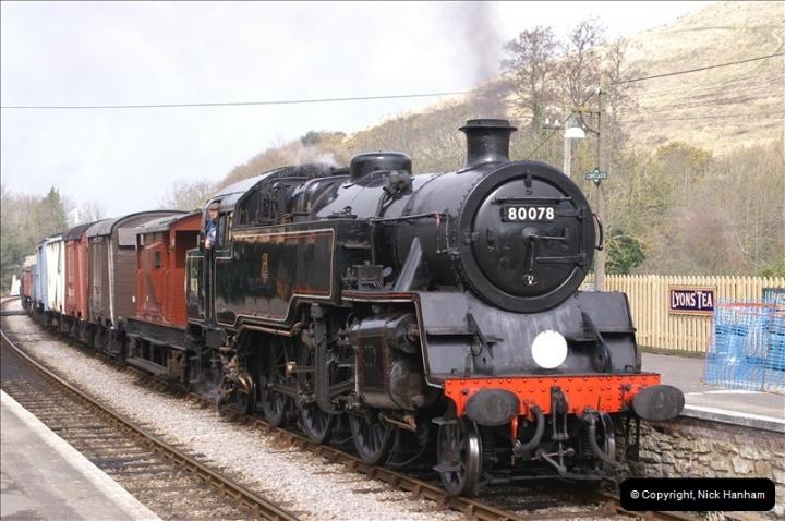 2006-03-31 SR Branch line Weekend @ Corfe Castle Dorset. (20)210