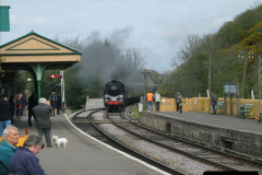 2005-04-17 Swanage Railway 50s & 60s Event, @ Corfe Castle, Dorset.  (2)034