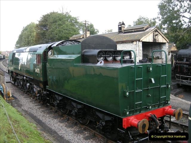 2008-08-09 34070 Manston arrives.  (8)0172