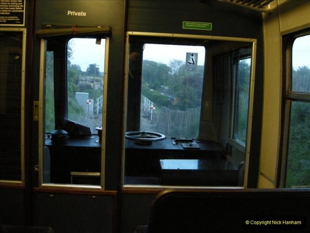 2009-05-15 Driving the late turn DMU.  (52)0283
