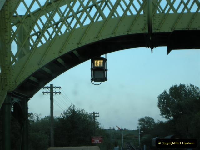 2009-05-15 Driving the late turn DMU.  (7)0238